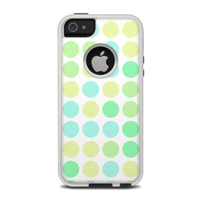 OtterBox Commuter iPhone 5 Case Skin - Big Dots Mint