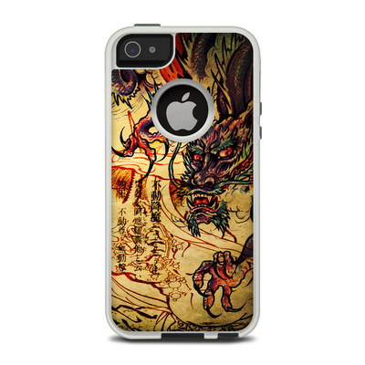OtterBox Commuter iPhone 5 Case Skin - Dragon Legend