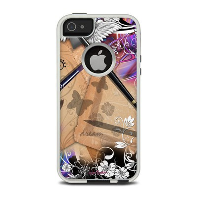 OtterBox Commuter iPhone 5 Case Skin - Dream Flowers