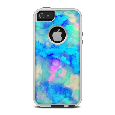 OtterBox Commuter iPhone 5 Case Skin - Electrify Ice Blue