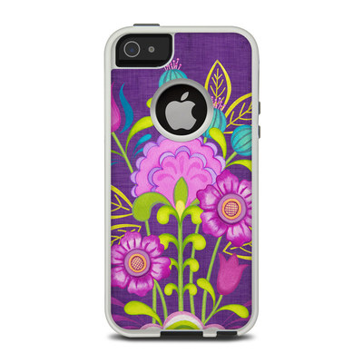 OtterBox Commuter iPhone 5 Case Skin - Floral Bouquet