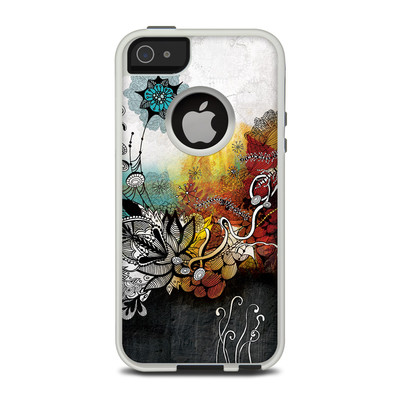 OtterBox Commuter iPhone 5 Case Skin - Frozen Dreams