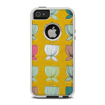 OtterBox Commuter iPhone 5 Case Skin - Flower Cups
