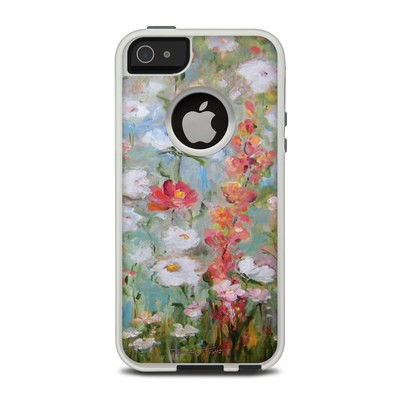 OtterBox Commuter iPhone 5 Case Skin - Flower Blooms