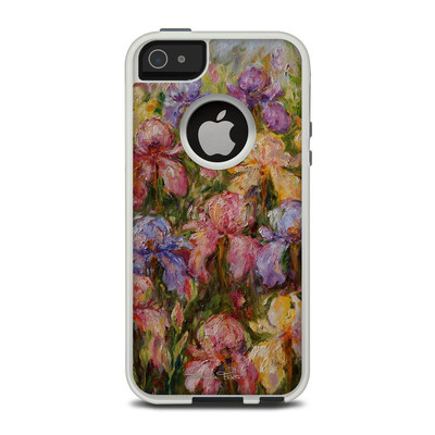 OtterBox Commuter iPhone 5 Case Skin - Field Of Irises