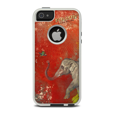 OtterBox Commuter iPhone 5 Case Skin - Follow Your Bliss