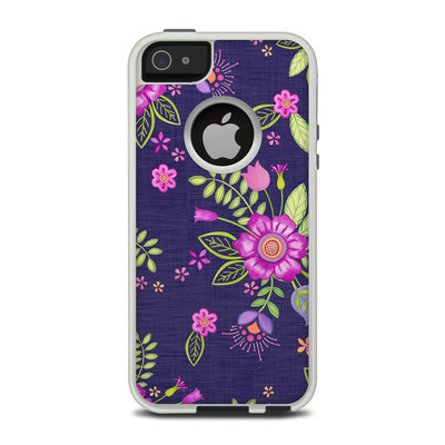 OtterBox Commuter iPhone 5 Case Skin - Folk Floral