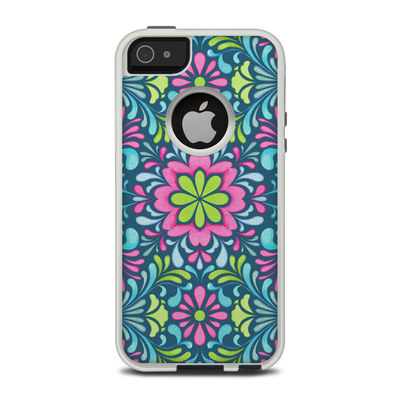 OtterBox Commuter iPhone 5 Case Skin - Freesia