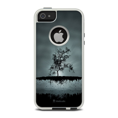 OtterBox Commuter iPhone 5 Case Skin - Flying Tree Black