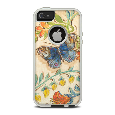 OtterBox Commuter iPhone 5 Case Skin - Garden Scroll