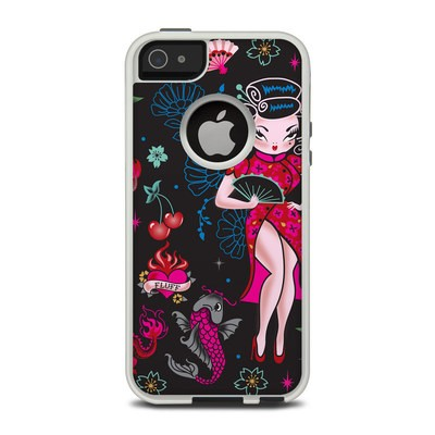 OtterBox Commuter iPhone 5 Case Skin - Geisha Gal