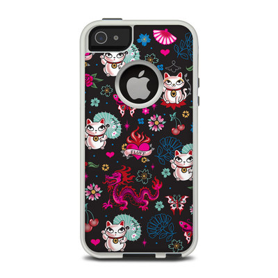 OtterBox Commuter iPhone 5 Case Skin - Geisha Kitty