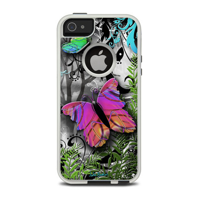 OtterBox Commuter iPhone 5 Case Skin - Goth Forest
