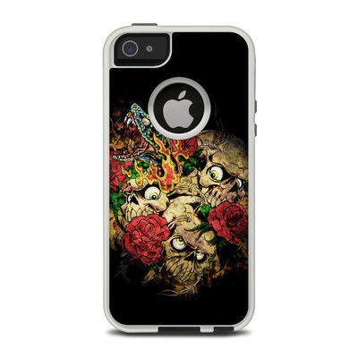 OtterBox Commuter iPhone 5 Case Skin - Gothic Tattoo