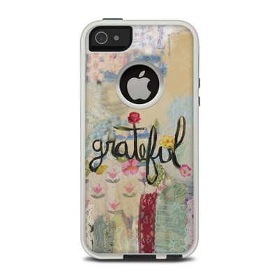 OtterBox Commuter iPhone 5 Case Skin - Grateful