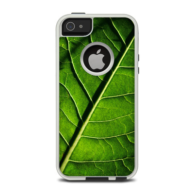 OtterBox Commuter iPhone 5 Case Skin - Green Leaf