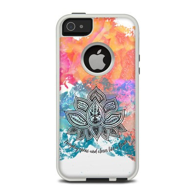 OtterBox Commuter iPhone 5 Case Skin - Happy Lotus