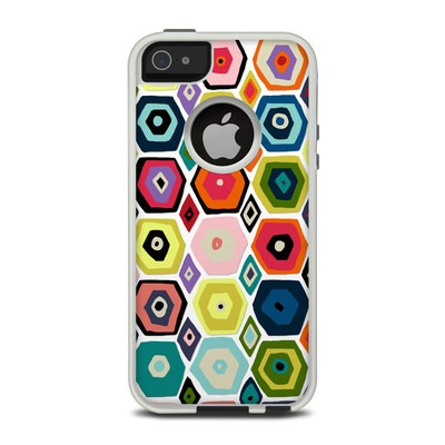 OtterBox Commuter iPhone 5 Case Skin - Hex Diamond
