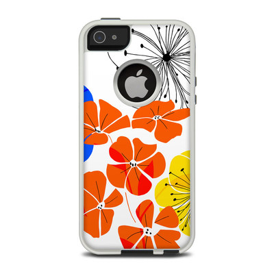 OtterBox Commuter iPhone 5 Case Skin - Hibiscus Dance