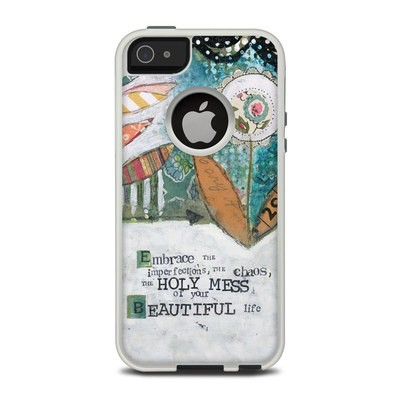 OtterBox Commuter iPhone 5 Case Skin - Holy Mess