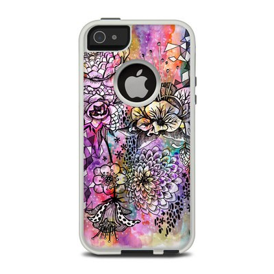 OtterBox Commuter iPhone 5 Case Skin - Hot House Flowers