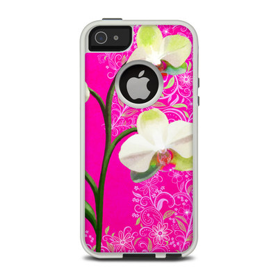 OtterBox Commuter iPhone 5 Case Skin - Hot Pink Pop