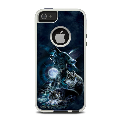 OtterBox Commuter iPhone 5 Case Skin - Howling