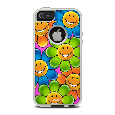 OtterBox Commuter iPhone 5 Case Skin - Happy Daisies