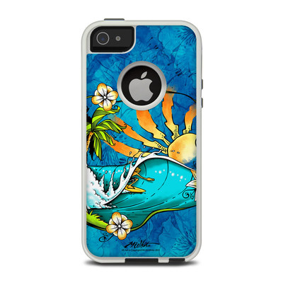 OtterBox Commuter iPhone 5 Case Skin - Island Playground