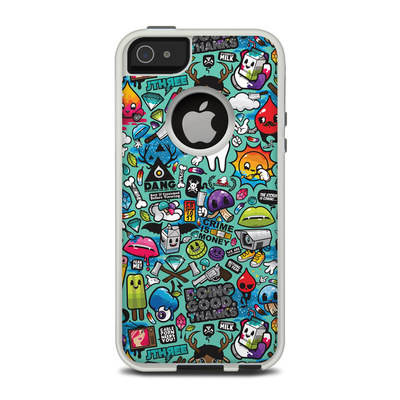 OtterBox Commuter iPhone 5 Case Skin - Jewel Thief