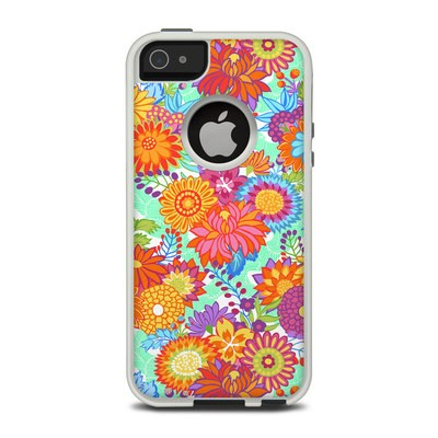 OtterBox Commuter iPhone 5 Case Skin - Jubilee Blooms