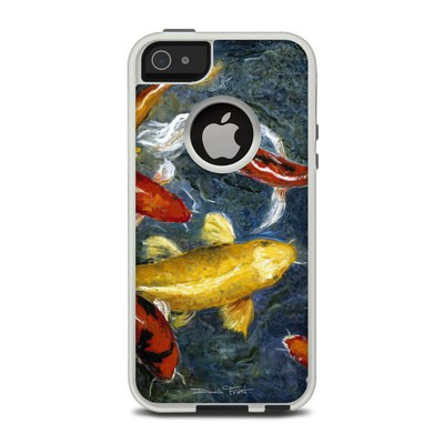 OtterBox Commuter iPhone 5 Case Skin - Koi's Happiness