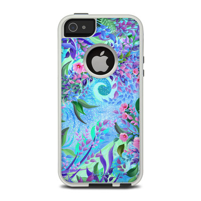 OtterBox Commuter iPhone 5 Case Skin - Lavender Flowers