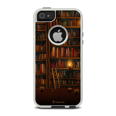 OtterBox Commuter iPhone 5 Case Skin - Library
