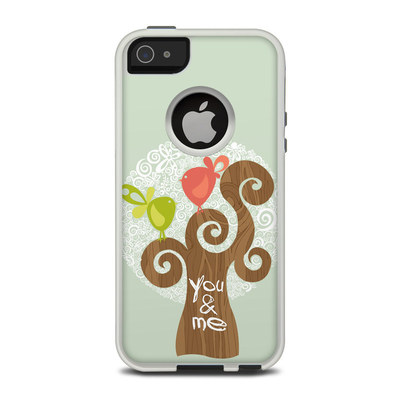 OtterBox Commuter iPhone 5 Case Skin - Two Little Birds