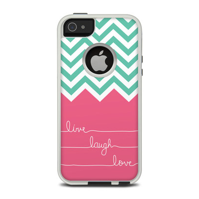 OtterBox Commuter iPhone 5 Case Skin - Live Laugh Love