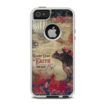 OtterBox Commuter iPhone 5 Case Skin - Leap Of Faith