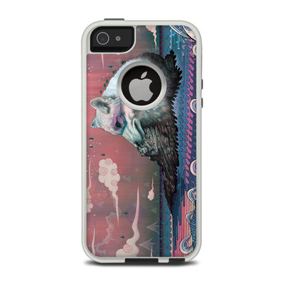 OtterBox Commuter iPhone 5 Case Skin - Lone Wolf