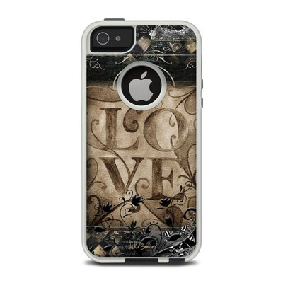 OtterBox Commuter iPhone 5 Case Skin - Love's Embrace