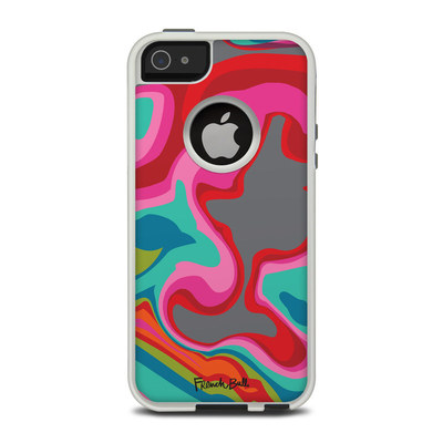 OtterBox Commuter iPhone 5 Case Skin - Marble Bright