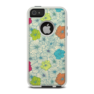 OtterBox Commuter iPhone 5 Case Skin - May Flowers