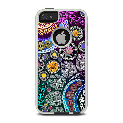 OtterBox Commuter iPhone 5 Case Skin - Mehndi Garden