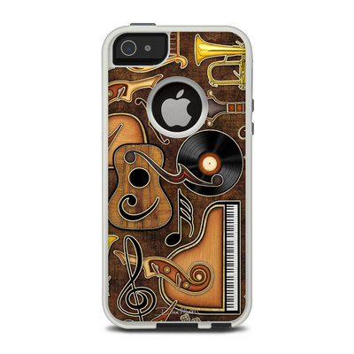 OtterBox Commuter iPhone 5 Case Skin - Music Elements