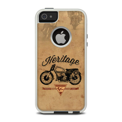 OtterBox Commuter iPhone 5 Case Skin - MotoGP Heritage