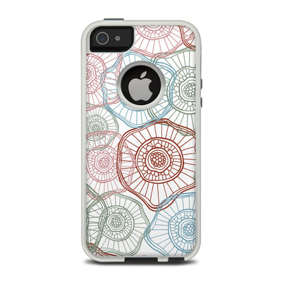 OtterBox Commuter iPhone 5 Case Skin - Micro Flowers
