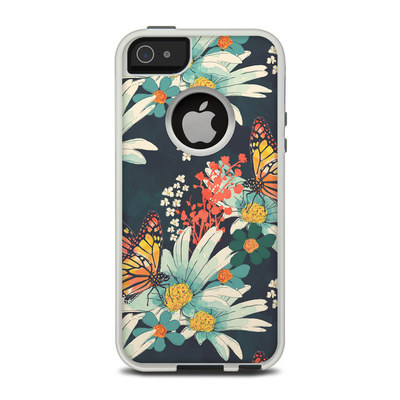 OtterBox Commuter iPhone 5 Case Skin - Monarch Grove