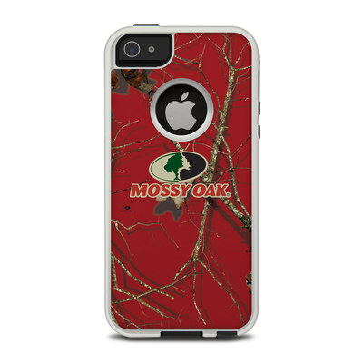 OtterBox Commuter iPhone 5 Case Skin - Break-Up Lifestyles Red Oak