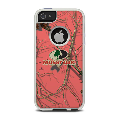 OtterBox Commuter iPhone 5 Case Skin - Break-Up Lifestyles Salmon