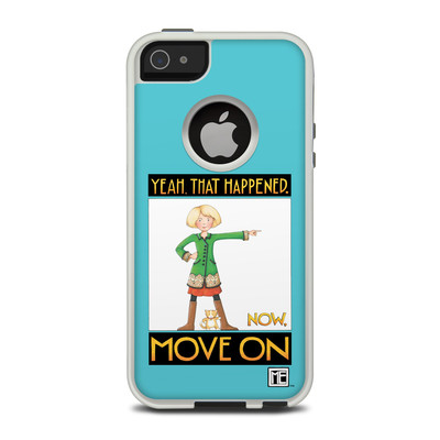 OtterBox Commuter iPhone 5 Case Skin - Move On