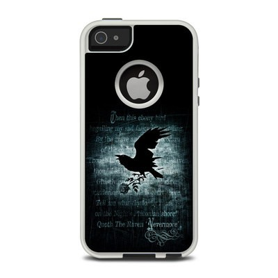 OtterBox Commuter iPhone 5 Case Skin - Nevermore